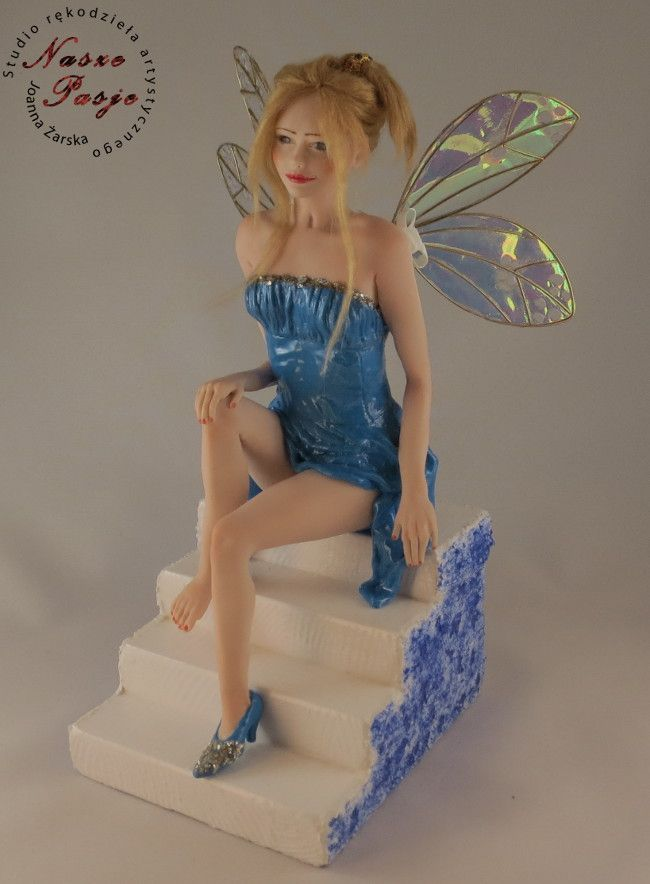 Cinderella Fairy - art doll OOAK by Joanna Żarska
