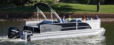 Lowe Pontoon Boats Platinum 25 RFL