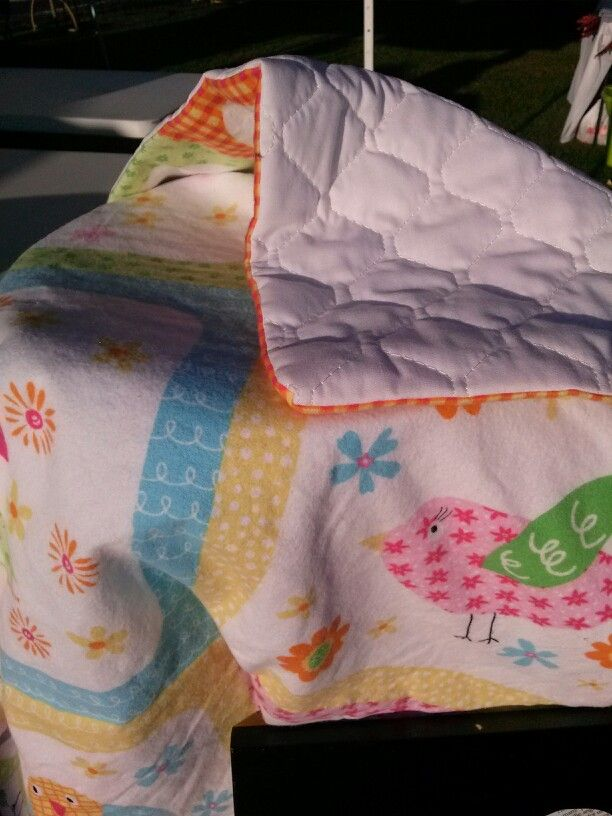 Birdy with Quilt Backing