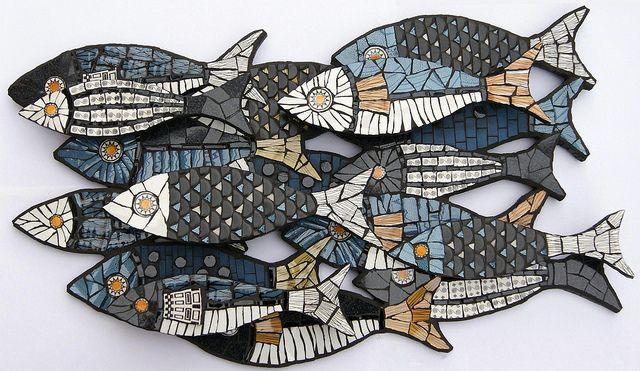Flow by Angela Ibbs by Angela Ibbs Mosaics at BreezyB5, via Flickr