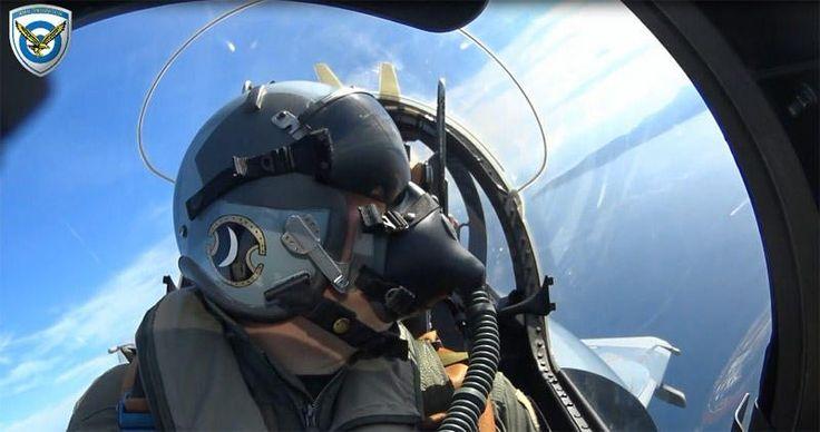 Δείτε τα Γεράκια της ΠΑ εν δράσει!! HELLENIC AIR FORCE Beyond The Skies! (Video)