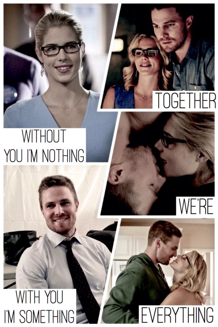 If felicity dies or they break up in arrow I'll be very sad and angry