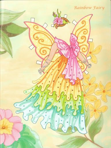 Fairy Paper Doll 07
