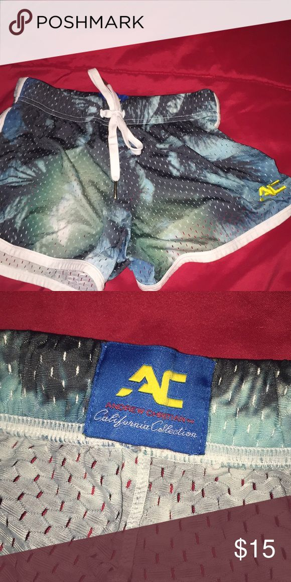 Andrew Christian Shorts Andrew Christian Shorts/ boxer briefs size small, loves these just need to get rid! In great condition! Andrew Christian Underwear & Socks Boxer Briefs