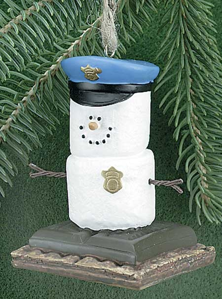 Police Officer Christmas Decorations ...