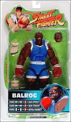 Street Fighter (Round 3) Balrog (Blue) by SOTA