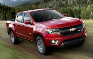 2015 Chevrolet Colorado gas mileage