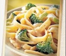 Yummy Chicken & Broccoli Fettuccine by becanddean on www.recipecommunity.com.au