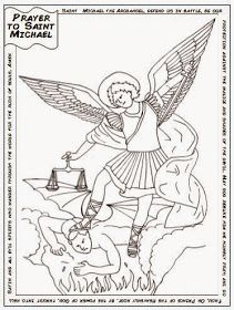 Saint Michael's Feast day is coming up on September 29. He's the patron saint of grocers, mariners, paratroopers, police and sickness. I j...