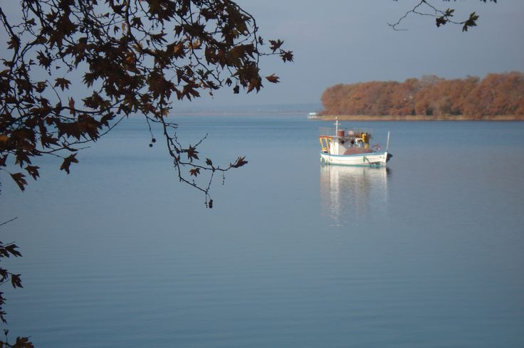 Trichonida lake.