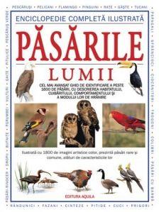 Enciclopedie completa ilustrata- Editura Acvila; Varsta:3+; Această enciclopedie prezintă peste 1.600 de specii de păsări comune şi rare. Este descris habitatul, cuibăritul, modul de hrănire şi caracterisiticile acestora. Textul explicativ este însoţit de numeroase ilustraţii color care vă vor ajuta să recunoasteţi cu uşurinţă fiecare specie.