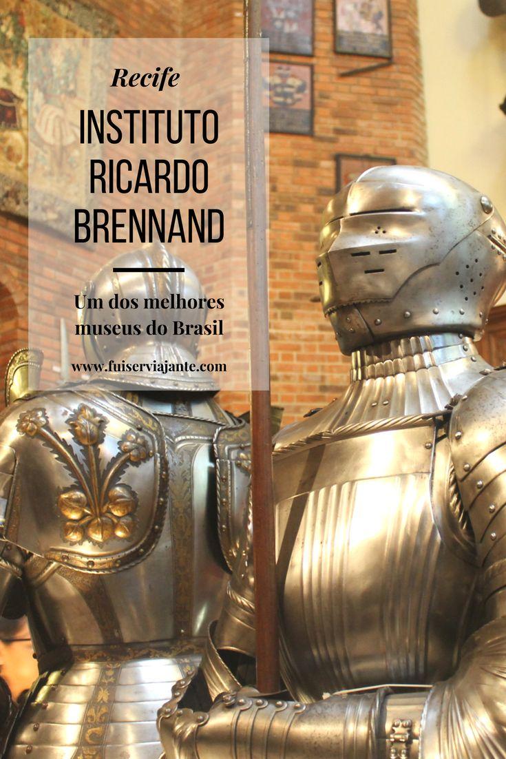 O Instituto Ricardo Brennand é um dos melhores museus do Brasil. Com uma das maiores coleções de armas brancas do mundo, e uma excepcional quantidade de obras que retratam o Brasil holandês (incluída a maior coleção de pinturas de Frans Post do mundo), o museu coloca Pernambuco na cena dos melhores museus para visitar no mundo.