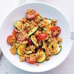 Couscous-Gemüse-Salat Rezept | Küchengötter