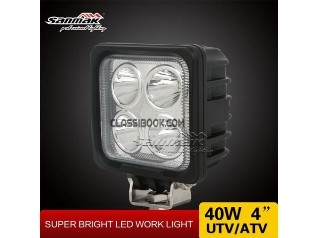 listing SM6081-40 Truck LED Work Light is published on FREE CLASSIFIEDS INDIA - http://classibook.com/bags-luggage-in-bombooflat-50661