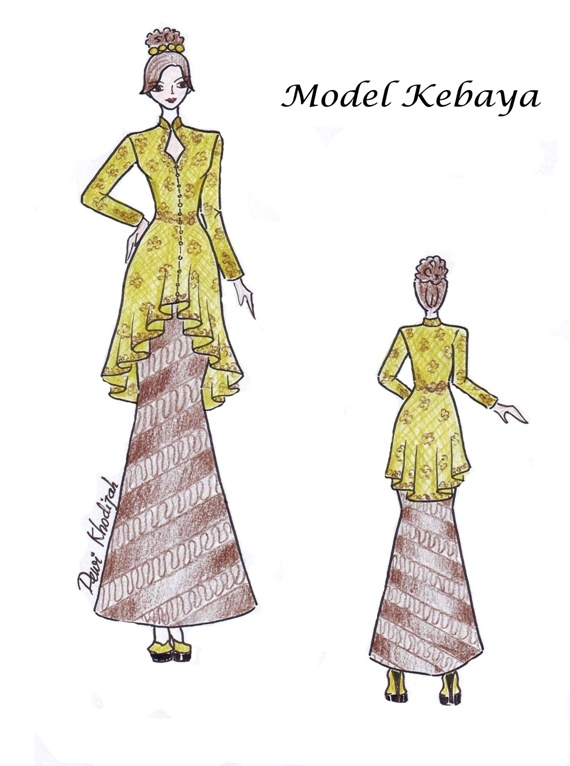 """Fashion and Life Style: Instructional Materials """"Pattern Construction and Pattern Making System Practical Kebaya"""""""