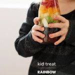 St. Patrick's Day Treat: Rainbow Drinks...such a cute and yummy idea!