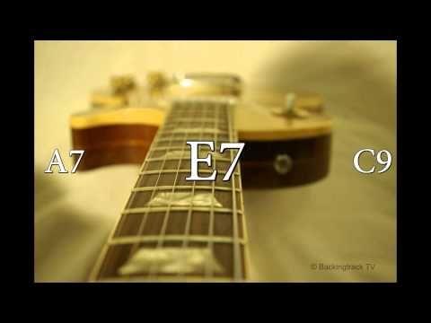▶ Texas Blues Shuffle Guitar Backing Track in E - YouTube
