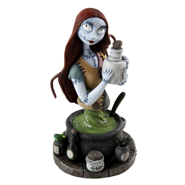 Nightmare Before Christmas - Sally - Bust - Grand Jester Studios - World-Wide-Art.com - #nightmarebeforechristmas #halloween #disney #timburton #grandjesterstudios