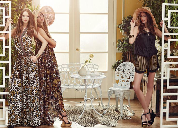 It's high #fashion time! #hats #prints