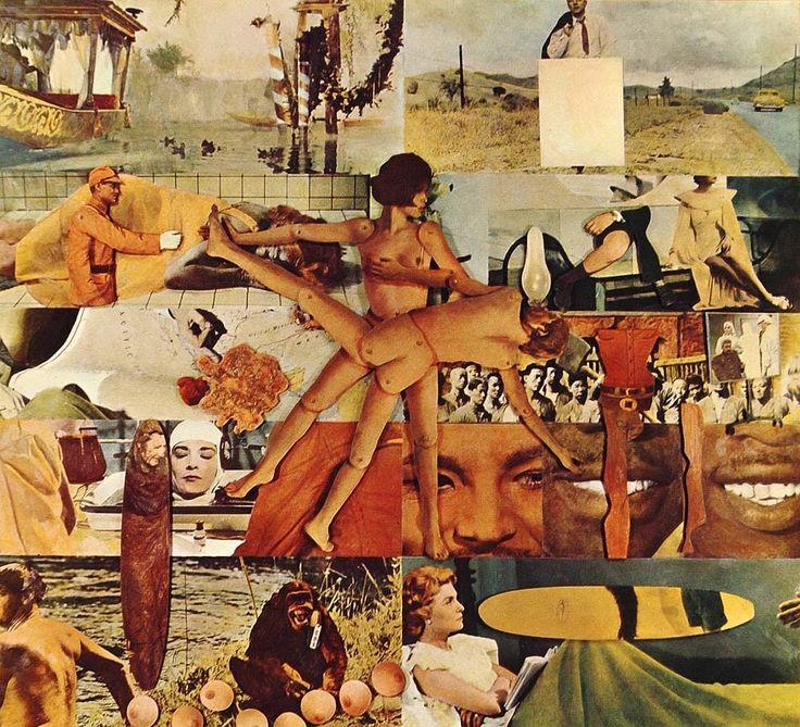 1970 Pop Art Oyvind Fahlstrom Roulette Nude Color Print - ORIGINAL POP1