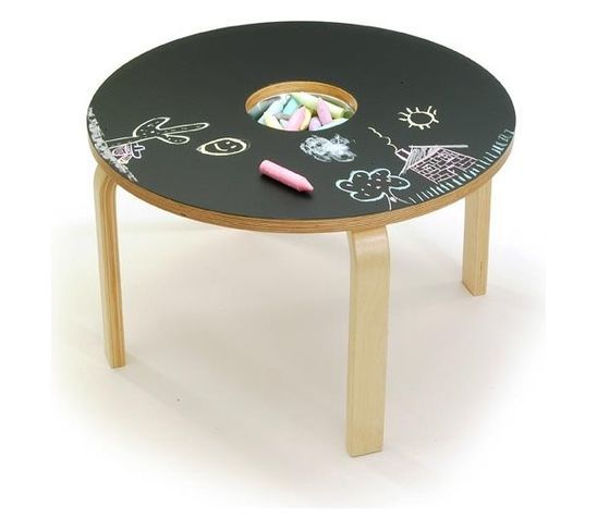 Kids Furniture - great idea for repurposing a table for kids