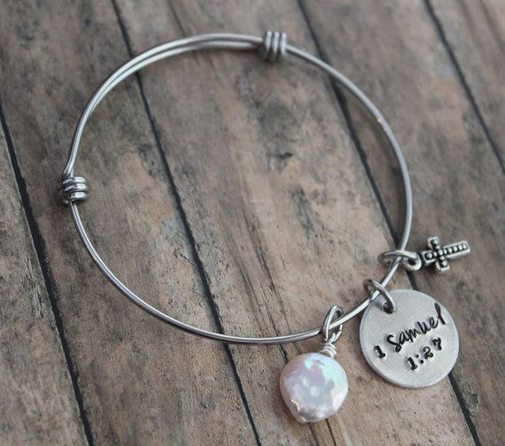 Hey, I found this really awesome Etsy listing at https://www.etsy.com/listing/217976916/adoption-bracelet-1-samuel-127-for-this