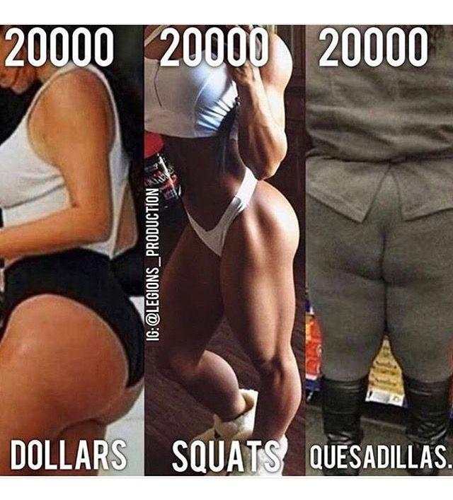 Squats! Always squats