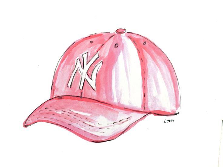 Art Print - Baby Girl Gift - Baseball - New York Yankees Baseball - Gift for…