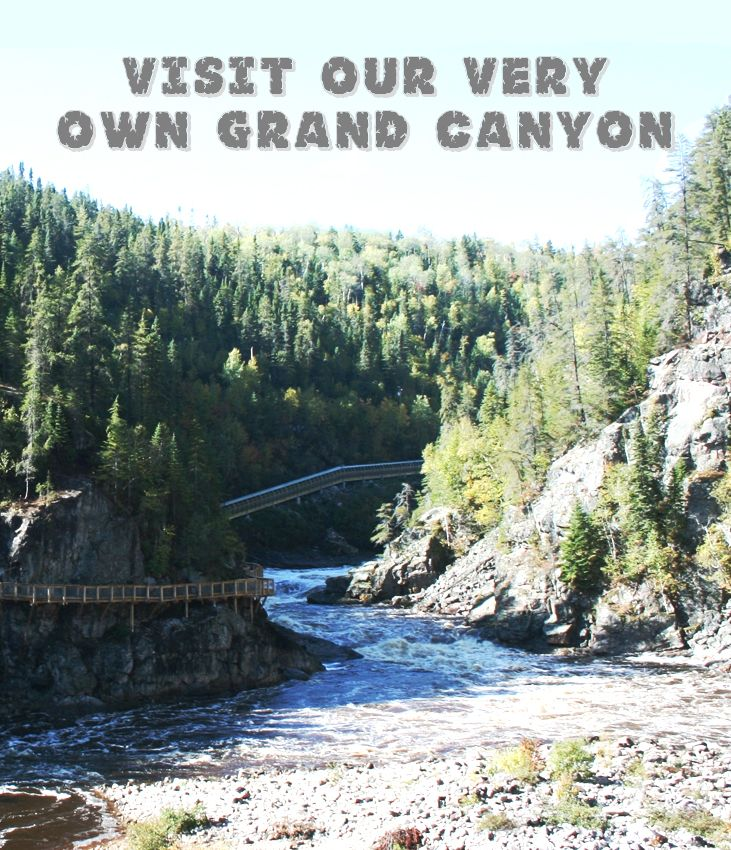 Reason #156 to visit the Saguenay-Lac-Saint-Jean region. Visite our very own Grand Canyon. #175reasons #Saguenay_Lac
