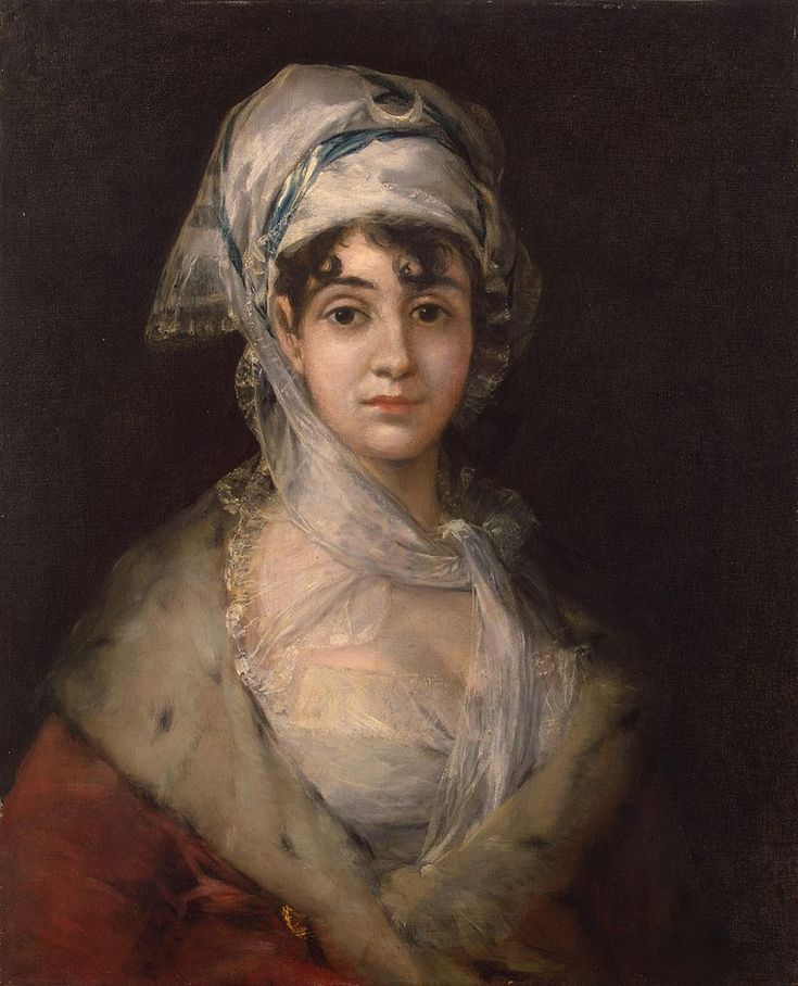 Francisco de Goya (Spanish, 1746-1828) - Portrait of the Actress Antonia Zarate, 1810-1811
