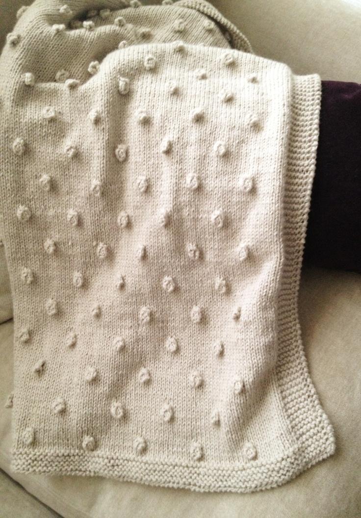 M s de 25 ideas nicas sobre mantas de beb tejidas en - Mantas de ganchillo faciles ...