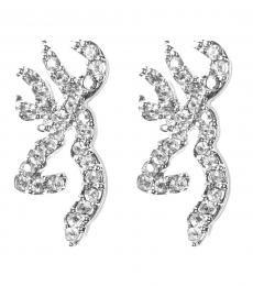 Browning Buckmark Ice Bling Post Earrings $24.99