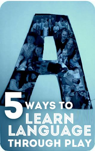 5 Ways to Learn Language Through Play. Guest post I shared over at Hands On As We Grow