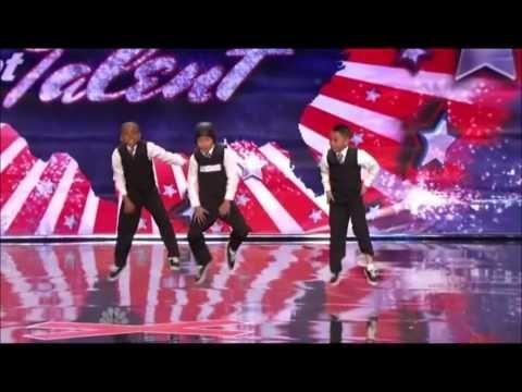3 kids dancing americas got talent.