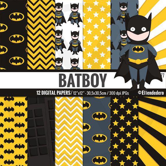 Papeles digitales Batman Fondos inspirados en los por eltendedero