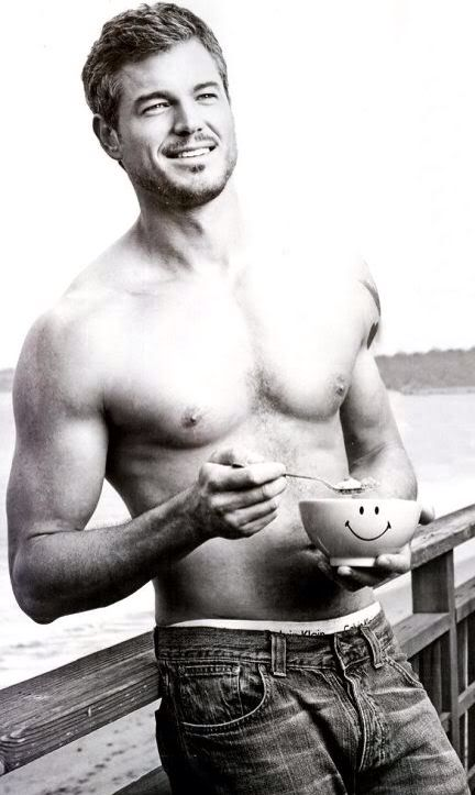 Eric Dane from Grey's anatomy..So miss Dr. Sloan and his great sense of humor, his charm...