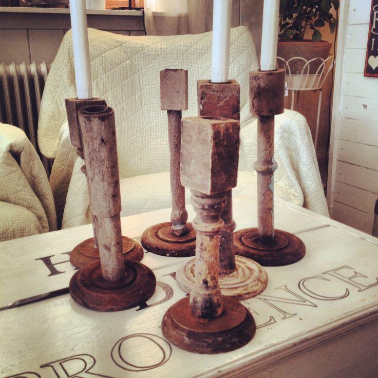 Vintage gjord av gamla stolsben