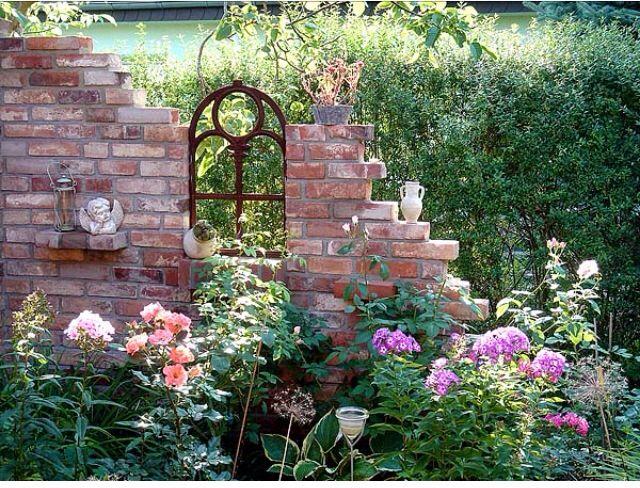 35 best Garten-Ruine images on Pinterest Garden ideas, Garden - sitzplatz im garten mit steinmauer