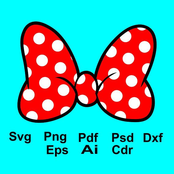 Minnie Mouse Bow Svg Minnie Mouse Bow Clipart Minnie Mouse Dxf Png Pdf File Minnie Mouse Bow Silhouette Cricu Minnie Mouse Bow Bow Clipart Disney Clipart