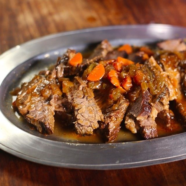 Beer-Braised Beef - Nancy Fuller - Farmhouse Rules