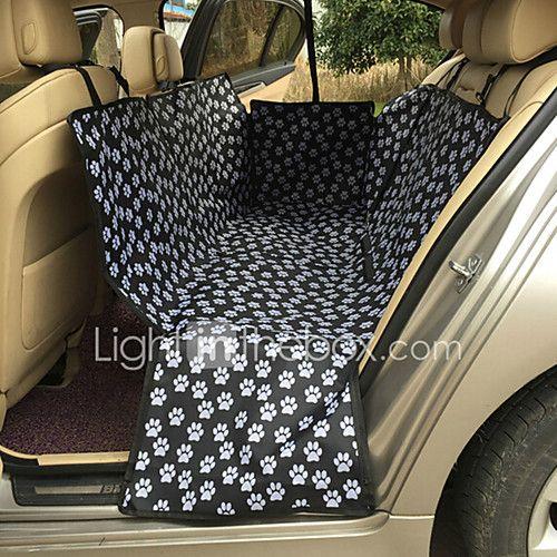 Gato Perro Cobertor de Asiento Para Coche Mascotas Colchonetas y Cojines Portátil Doble Lado Transpirable Plegable Masaje Negro 2017 - $39.99