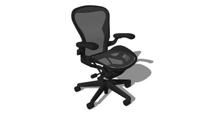 Herman Miller Aeron Chair - 3D Warehouse