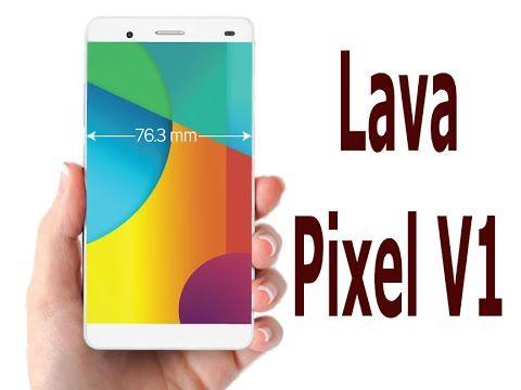 Lava Pixel V1 with Internal Memory 32 GB ROM