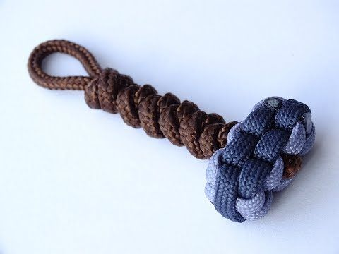 How To Make a Paracord Thor's Hammer Key Chain…