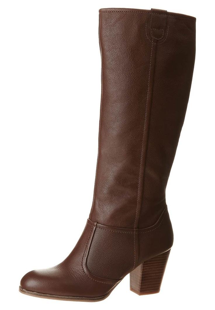 LINA - Høje støvler/ Støvler - brun