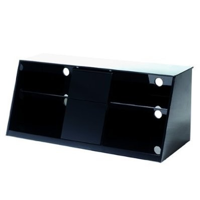 """High Gloss TV Cabinet for up to 52"""" TV - Black £219.99"""