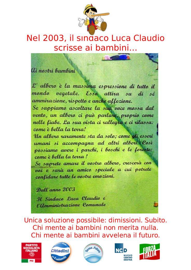 Vestiamo gli alberi prima del taglio - Partito Socialista Padova
