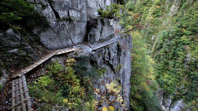 黒部峡谷 下ノ廊下  #danger #Kurobe Canyon #toyama