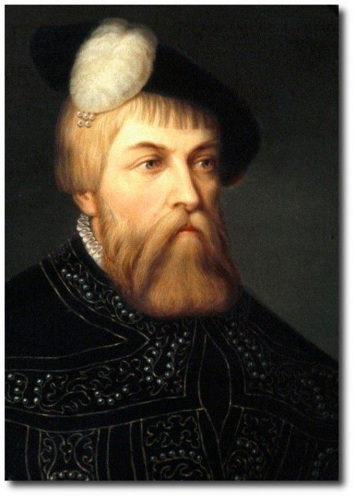 King Gustav Vasa, Keywords:Baroque, Baroque Period, Swedish,