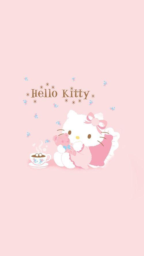 Hello Kitty Aesthetic Wallpaper Hello Kitty